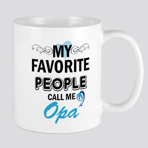 my fovorite people call me opa Mugs