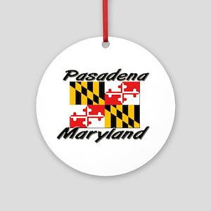 Pasadena Maryland Ornament (Round)