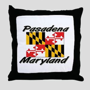 Pasadena Maryland Throw Pillow