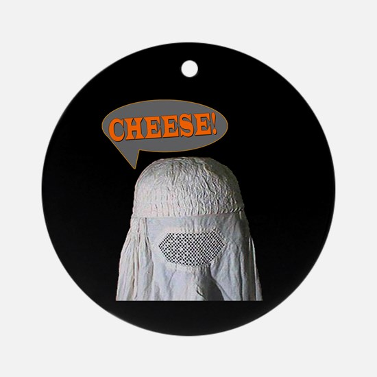 "Say ""Cheese!"" Ornament (Round)"