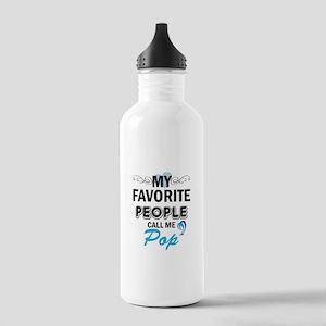 my fovorite people call me pop Sports Water Bottle