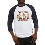 """Spot the Maniac"" long-sleeved top"