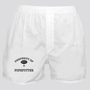 Property of a Pipefitter Boxer Shorts