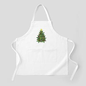 Marijuana Christmas Tree Apron
