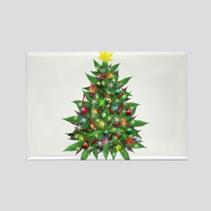 Marijuana Christmas Tree Magnets
