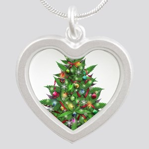 Marijuana Christmas Tree Necklaces