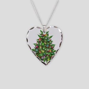 Marijuana Christmas Tree Necklace