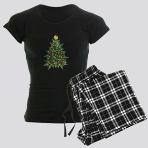 Marijuana Christmas Tree Pajamas