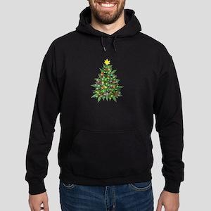 Marijuana Christmas Tree Hoodie