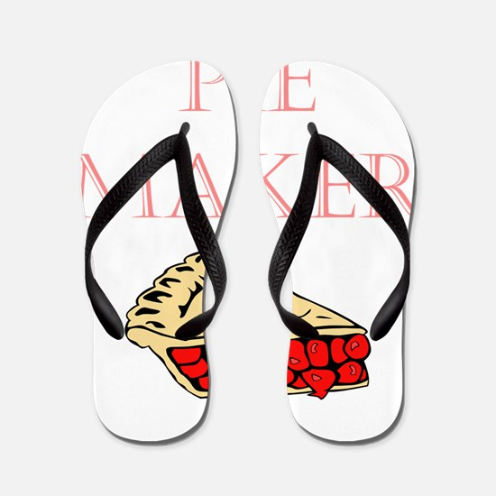 Pie Maker Flip Flops