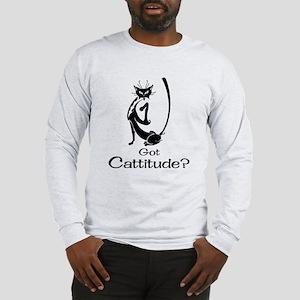 Got Cattitude? Long Sleeve T-Shirt
