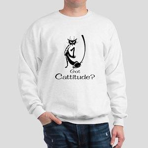 Got Cattitude? Sweatshirt