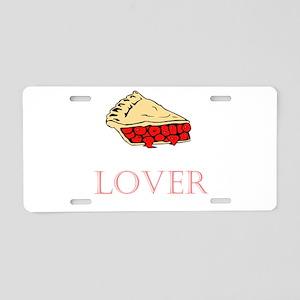 Pie Lover Aluminum License Plate