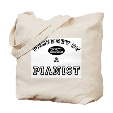 Property of a Pianist Tote Bag