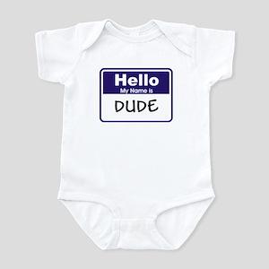 Dude Infant Bodysuit