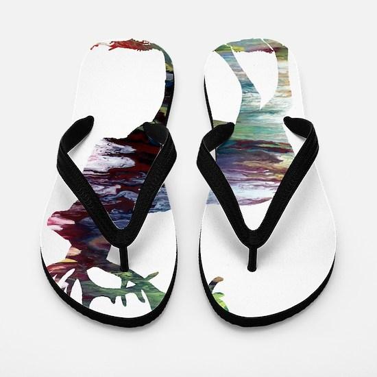 Cool Elk Flip Flops