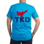Taekwondo Men's Fitted T-Shirt (dark)