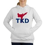 Taekwondo Women's Hooded Sweatshirt