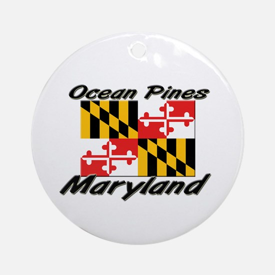 Ocean Pines Maryland Ornament (Round)