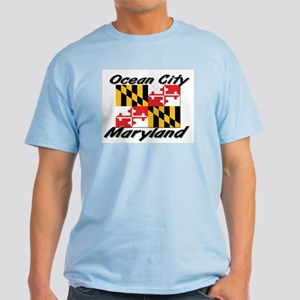 Ocean City Maryland Light T-Shirt