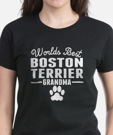 World's Best Boston Terrier Grandma T-Shirt