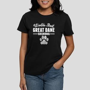 World's Best Great Dane Grandma T-Shirt
