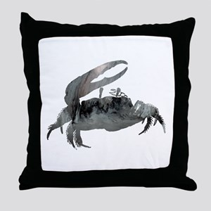 Fiddler Crab Throw Pillow