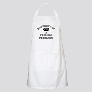 Property of a Physical Therapist BBQ Apron