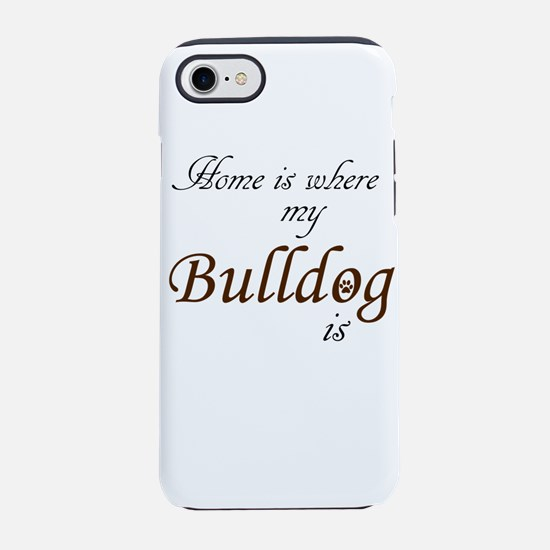 Cute Bulldogs iPhone 8/7 Tough Case