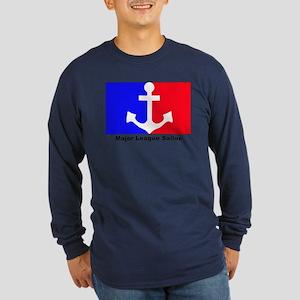 Major league soldier Long Sleeve Dark T-Shirt