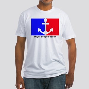 Major league soldier Fitted T-Shirt