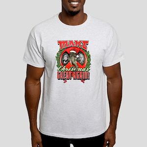 Make Christmas Great Again Trump Pen Light T-Shirt