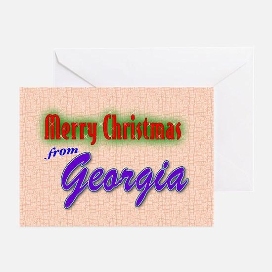 Georgia Christmas Cards (Pk of 20)