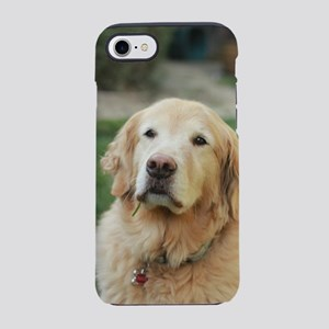 Nala in front of lawn golden iPhone 8/7 Tough Case