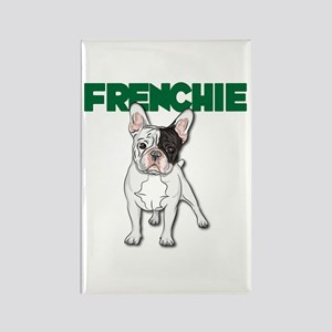 Frenchie Rectangle Magnet Magnets