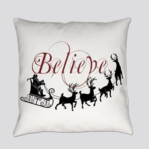 Believe Everyday Pillow