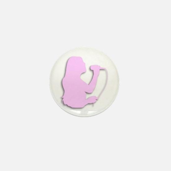 Pink Singer / Vocalist Mini Button