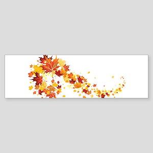 Leaf Bumper Sticker