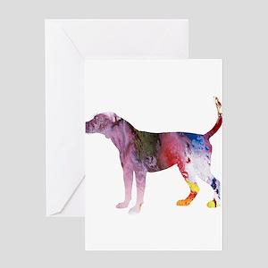 Fox hound Greeting Cards