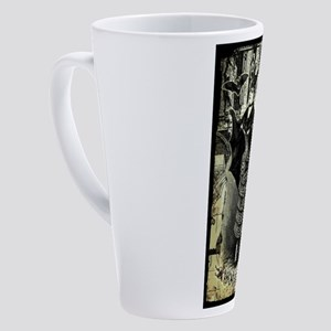 vic-halloween-collage_gc-tee 17 oz Latte Mug