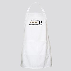 Scrabble Queen BBQ Apron