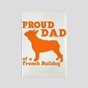 FRENCH DAD Rectangle Magnet