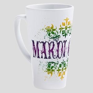 mardi-gras 17 oz Latte Mug