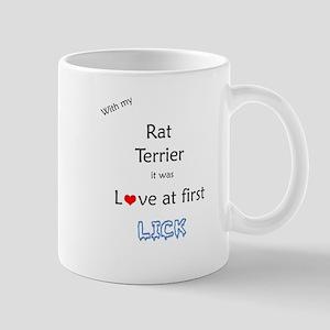 Rat Terrier Lick Mug
