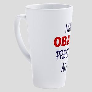 Make Obama President Again 17 oz Latte Mug