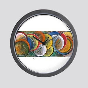 Galaxy- Original Acrylic Painting Wall Clock