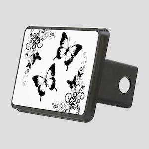 Butterflies Rectangular Hitch Cover