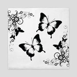 Butterflies Queen Duvet