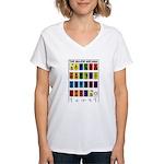The Major Arcana Women's V-Neck T-Shirt