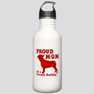 Frenchie Mom Stainless Water Bottle 1.0L